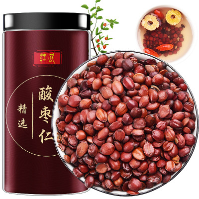 莊民酸棗仁100g/罐 正宗炒熟酸棗仁 高品質精選好貨 睡眠茶