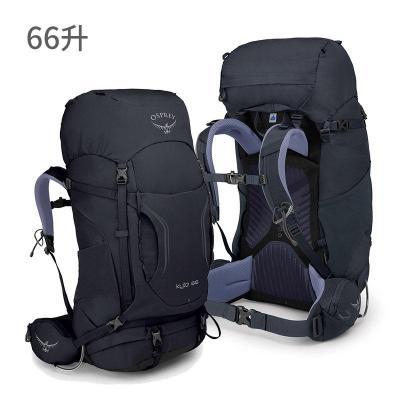灰色66 X/S(三年质保) OSPREY KYTE 鹞鹰户外登山包双肩背包女徒步大容量轻量背包19新款定制