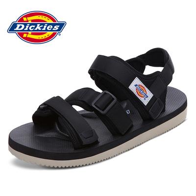 Dickies涼鞋男2019新款防滑沙灘鞋男透氣男鞋夏季休閑情侶潮鞋子182M50LXS14