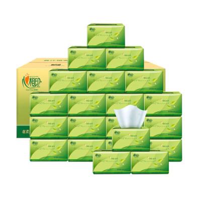 心相印茶語系列 成人家庭裝 嬰兒面巾紙紙抽24包/件(單位:件)