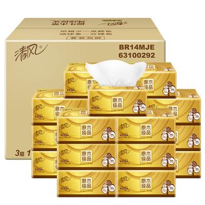 Qing feng брэндийн салфетка 3 давхарга 120 ширхэгтэй 18 боодол