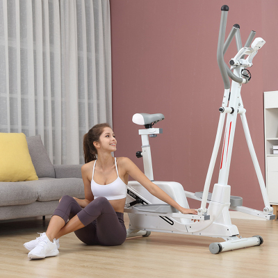 橢圓機家用磁控太空漫步機小型踏步機閃電客室內靜音跑步機扶手踏步機