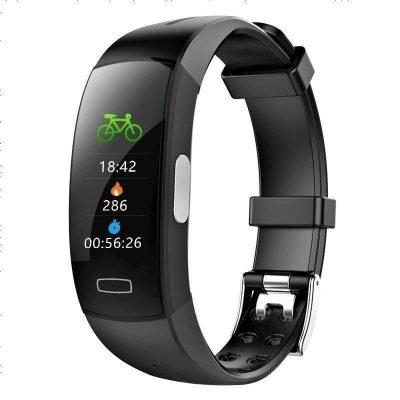 普利邦彩屏智能手環監測量血壓心率報警心電圖心臟跳脈搏運動健康手表防水男女多功能小米4華為蘋果通用