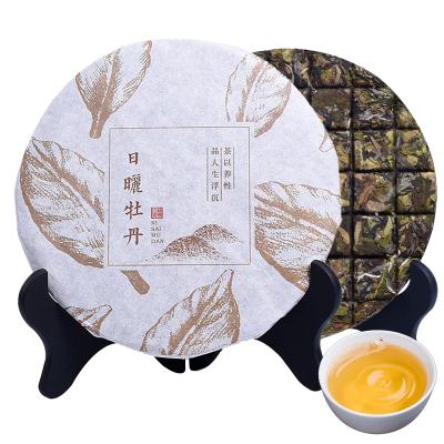 春逸茗茶 白牡丹 福鼎白茶 老白茶 茶餅 150g