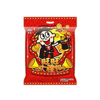 旺旺 大礼包 大礼袋680g/包 零食 年货礼盒 旺旺大米饼 旺旺浪味仙 牛奶糖