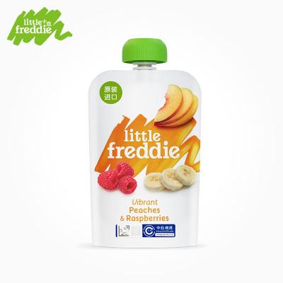 Little Freddie小皮 樹莓香蕉蘋果桃泥 100g
