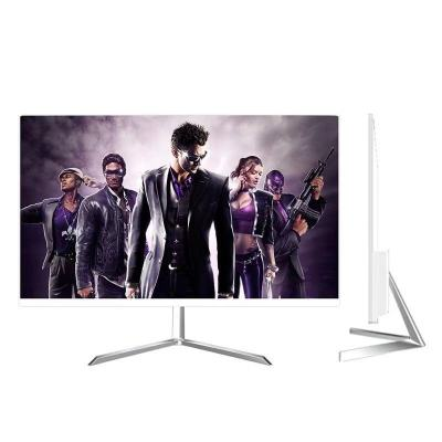 电脑台式机显示器19/22/24/27/32寸曲面2K屏幕144监控IPS显示屏游戏 27寸银色窄边IPS显示器 HDM