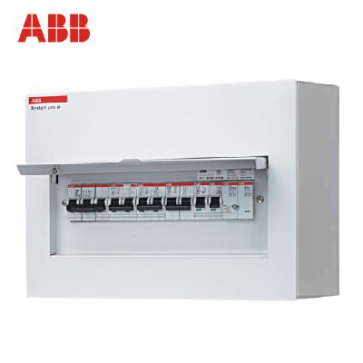【ABB官方旗艦店】ABB強電箱/abb配電箱/8回路強電箱/ACM-8-SNB【金屬明裝空箱】