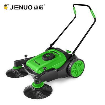 杰諾工業掃地機JN9055A手推式掃地車無動力工業工廠車間物業道路粉塵清掃車掃地機 綠色