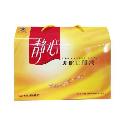 太太藥業(Taitai)靜心口服液15ml*60支900g 禮盒裝 睡眠好 骨骼好心情好草本配方