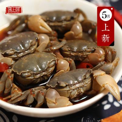 遇上鮮醉白玉蟹醉蟹即食寧波舟山海鮮特產醉毛蟹嗆蟹大閘蟹生腌