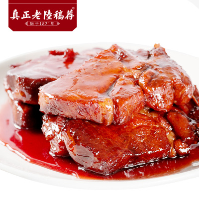 真正老陸稿薦 無錫特產 經典醬排骨280g/盒裝 肉類熟食鹵味小吃