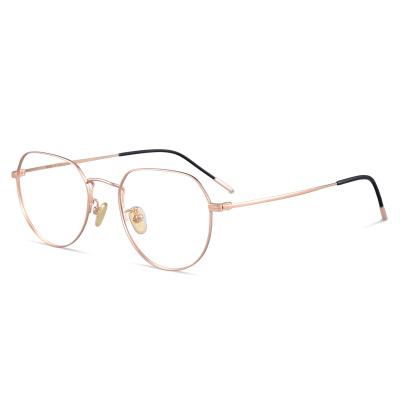 普萊斯(Pulais)防輻射抗藍光近視眼鏡男女潮多邊形平光眼鏡框架護眼睛架男 近視鏡 護目鏡 5312 配平光防藍光鏡片