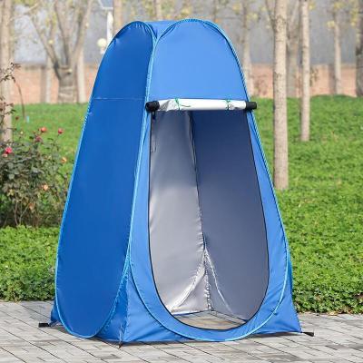 户外洗澡帐篷 保暖帐篷更衣帐篷自动加厚家用更衣移动厕所钓鱼浴罩