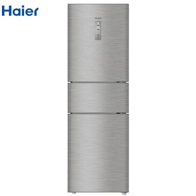 【99新】Haier/海尔BCD-216WDPX家用小型三门变频冰箱216升风冷无霜静音节能 省电 中门变温 杀菌净味