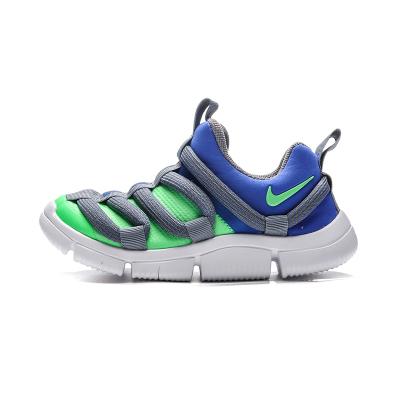 【自营】NIKE童鞋男女中童休闲鞋舒适拼色一脚蹬跑步运动鞋AQ9661