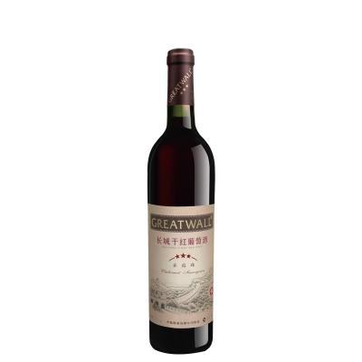 長城(GreatWall ) 沙城產區星級系列 三星赤霞珠干紅葡萄酒