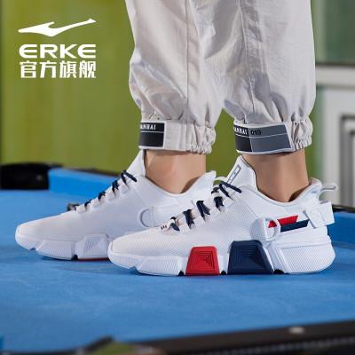 鴻星爾克男訓練網球鞋2020年夏上新透氣耐磨跑步鞋男鞋