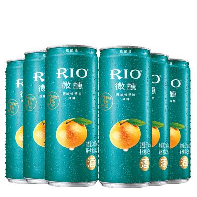 銳澳(RIO)洋酒 雞尾酒 預調酒 西柚味330ml*6