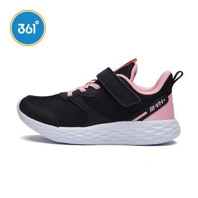 361度童鞋女童2020秋季新款透氣中大童兒童運動鞋K82033537
