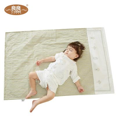 良良(liangliang)隔尿垫麻棉加大婴儿尿垫吸湿防水透气四季儿童用品苎麻可洗新生儿宝宝 超大号110*72cm