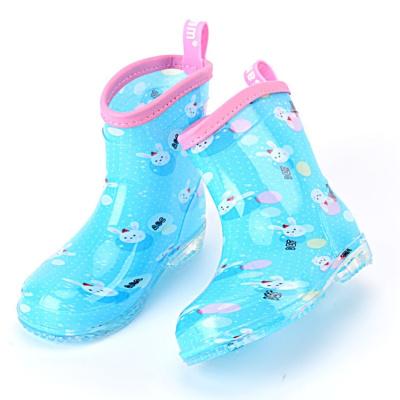 百士发(BAISHIFA)儿童雨鞋男童女童雨靴宝宝水鞋防滑公主可爱幼儿园小学生小孩胶鞋
