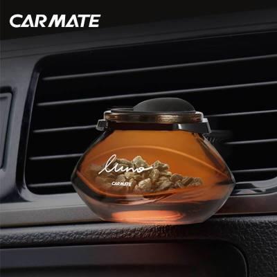 快美特(CARMATE)汽车车载香水 露力沸石茶系列 空调出风口式 CFR772芒果