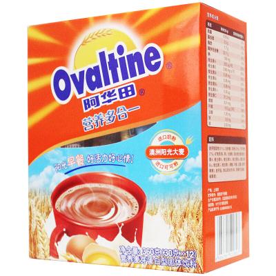 阿华田 Ovaltine coco粉营养多合一随身包冷巧克力速溶可可粉冲饮品30g*12
