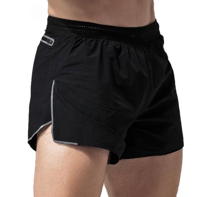 皮塞羅 運動短褲男速干男士跑步三分褲田徑訓練彈力健身超短熱褲修身