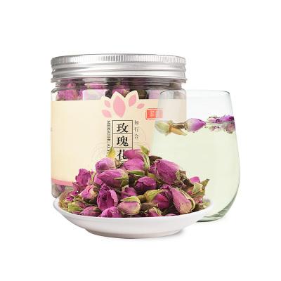 莊民(zhuang min) 玫瑰花茶50g/罐 香味濃 精選好貨 干花茶葉花草茶
