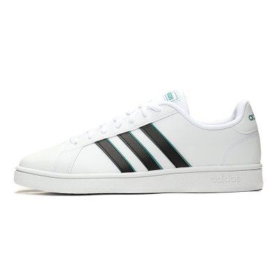 Adidas/阿迪達斯 男鞋 GRAND COURT BASE低幫小白鞋休閑運動鞋板鞋網球鞋EG5943