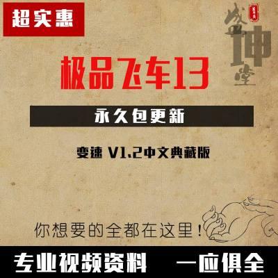 飞车13:变速 v1.2中文典藏版 PC电脑赛车竞速游戏