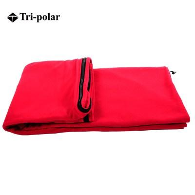 三极户外(Tripolar) TP2900 睡袋内胆抓绒单人舒适露营成人休闲旅行便携保暖隔脏睡袋