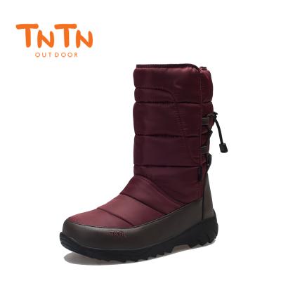 NTN韓版戶外冬季俄羅斯羽絨東北防水男女情侶滑雪地鞋棉靴子