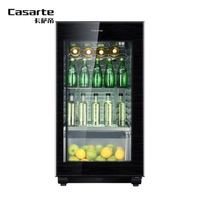【99新】Casarte/卡薩帝 LC-122K 彩晶門體悠享單門冰吧122升茶葉柜飲料柜冷藏柜雪茄柜恒溫保濕冷藏保鮮