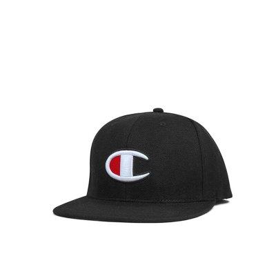Champion冠軍潮牌life線大C logo純色男女通用平檐棒球帽帽子H0808