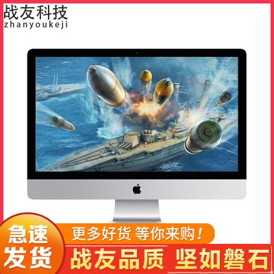 【二手9成新】AppleIMac蘋果一體機電腦二手臺式一體機辦公 12款27寸厚款MC814 i5 4G 240G固態
