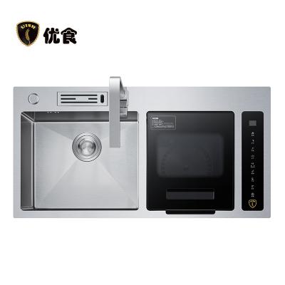 優食水果蔬菜清洗機洗菜家用食材肉類海鮮類消毒凈食全自動食材凈化器 廚房電器 洗菜機