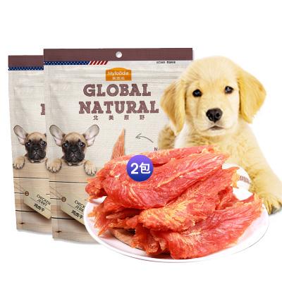 麥富迪狗零食雞肉條360g*2包雞肉絲雞肉干雞胸肉訓練獎勵寵物零食