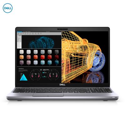 戴爾(DELL) Precision3551 設計本15.6英寸 移動工作站圖形筆記本電腦 I9-10885H/16G/512G固/ 4G獨顯/100%sRGB/3年服務/預定