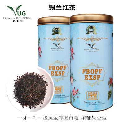 錫蘭紅茶 URUWALA TEA 一芽一葉紅碎茶Fbop Exsp-1 濃郁果香型100g禮品罐裝 斯里蘭卡進口紅茶