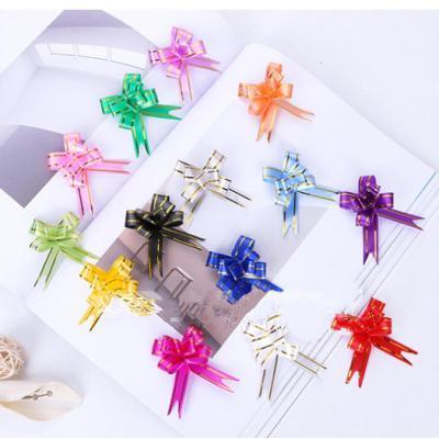 開心孕圣誕節蘋安果包裝盒拉花 婚慶結婚用品 手拉花 禮品包裝懶人拉花