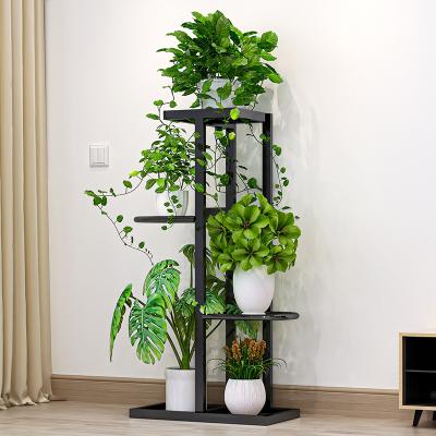 艾格調 花架花盆架子多層室內家用陽臺裝飾置物架鐵藝客廳簡約多層掛架綠蘿架