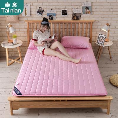 泰念Tai nian新款簡約風全棉純色5cm透氣榻榻米床墊床褥1.8m墊被1.5米學生宿舍褥子1.2兒童成人單人雙人床墊