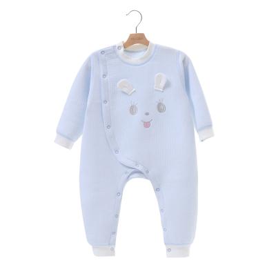 亿婴儿 秋冬款婴儿连体衣加厚保暖婴儿衣服宝宝爬服哈衣新生儿内衣1775