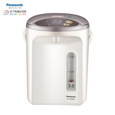 松下(Panasonic)3L白色电水瓶 备长炭内胆涂层 4段温度调整 2种出水模式 NC-EN3000