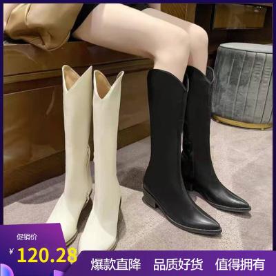 Daphne/达芙妮2021年新款冬季时尚百搭加绒时装靴长靴202007552