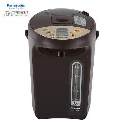 松下(Panasonic)3L电水壶 电热水瓶 备长炭内胆 可预约 全自动智能保温烧水壶 断电出水 NC-DC3000