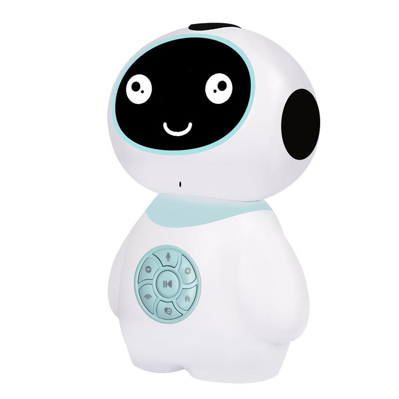 玮誉(WEIYU)智能机器人早教对话语音互动儿童学习wifi教育益智小U机器人PVC环保材质