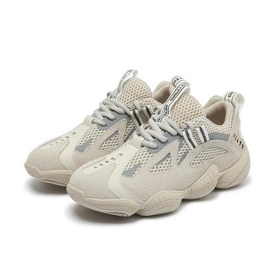 马克华菲老爹鞋女新款拼接透气帮面厚底增高ins潮低帮系带健身跑步运动鞋女